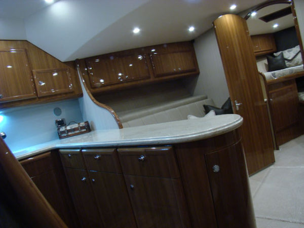 Looking Forward From Galley