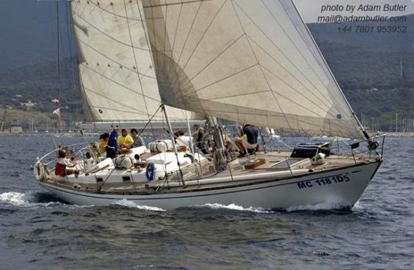 Nautor Swan 55 S&S sloop boat for sale