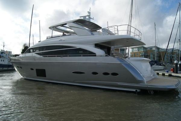 Used princess 88 motor yacht motor yacht for sale for Large motor yachts for sale