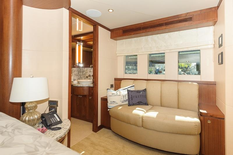 Master Stateroom reading area