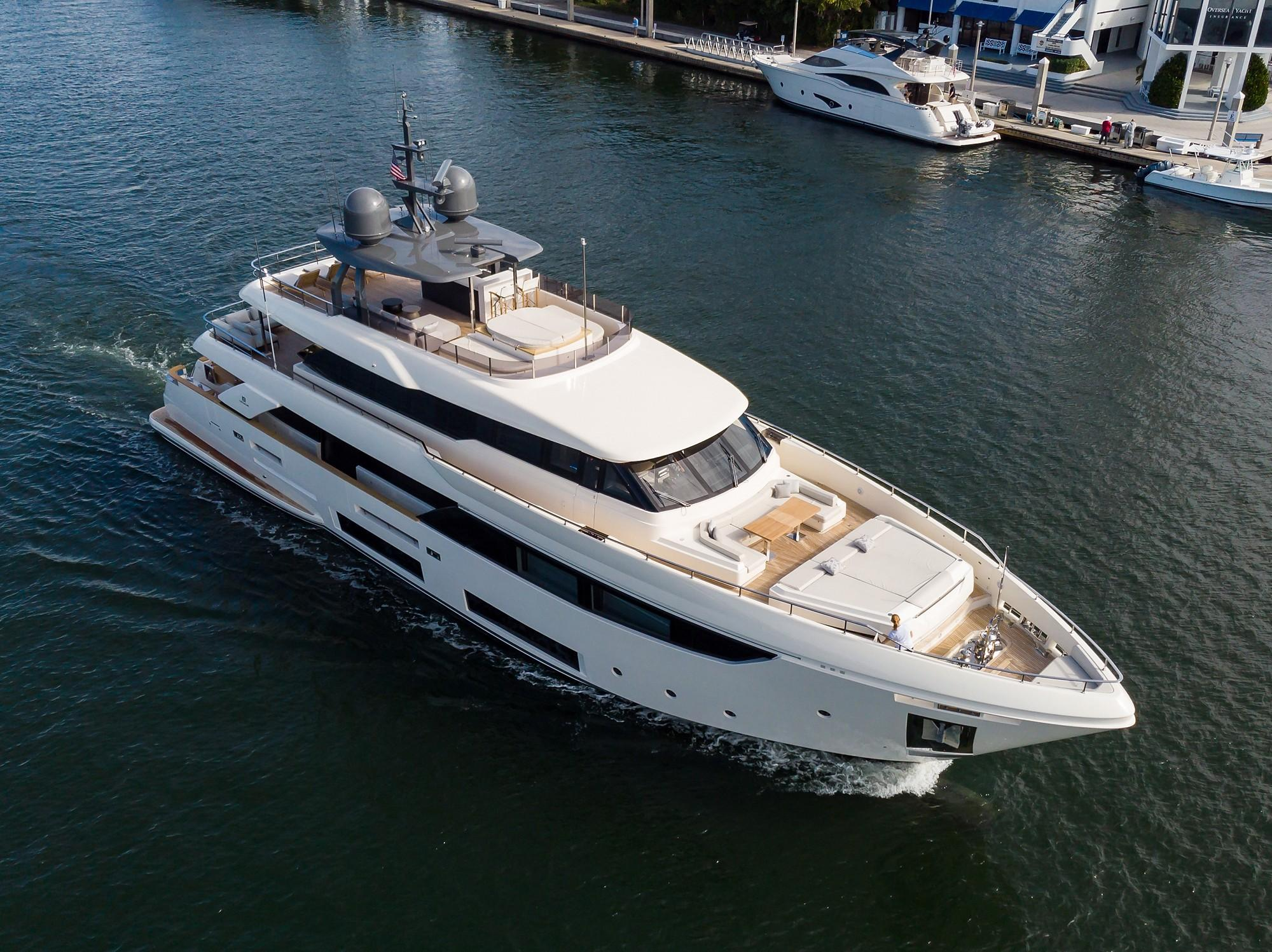 2018 Custom Line Navetta 33 M - Ariel Profile