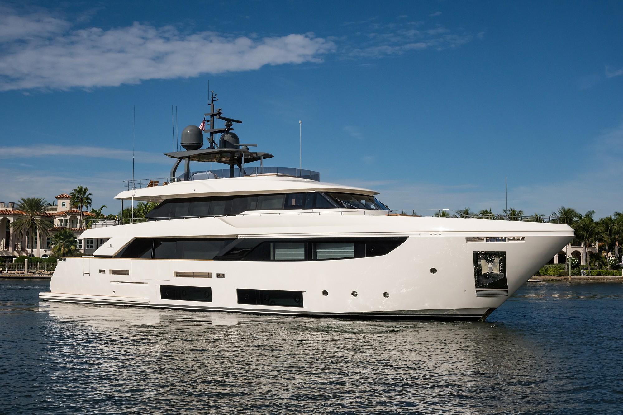 2018 Custom Line Navetta 33 M - Profile