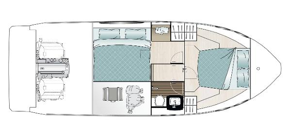 Sealine C330 - Layout Diagram