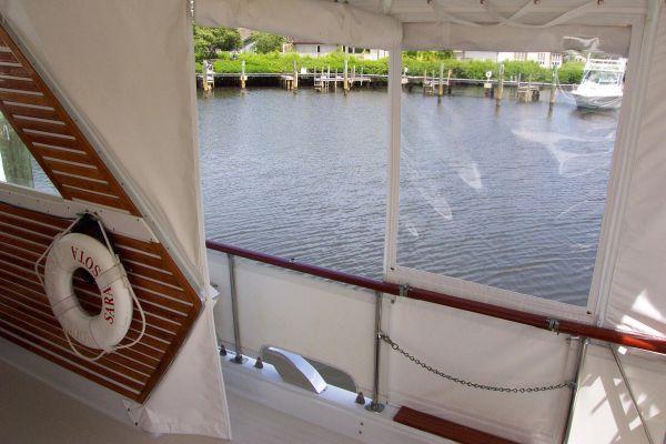 Starboard Side Deck Entrance