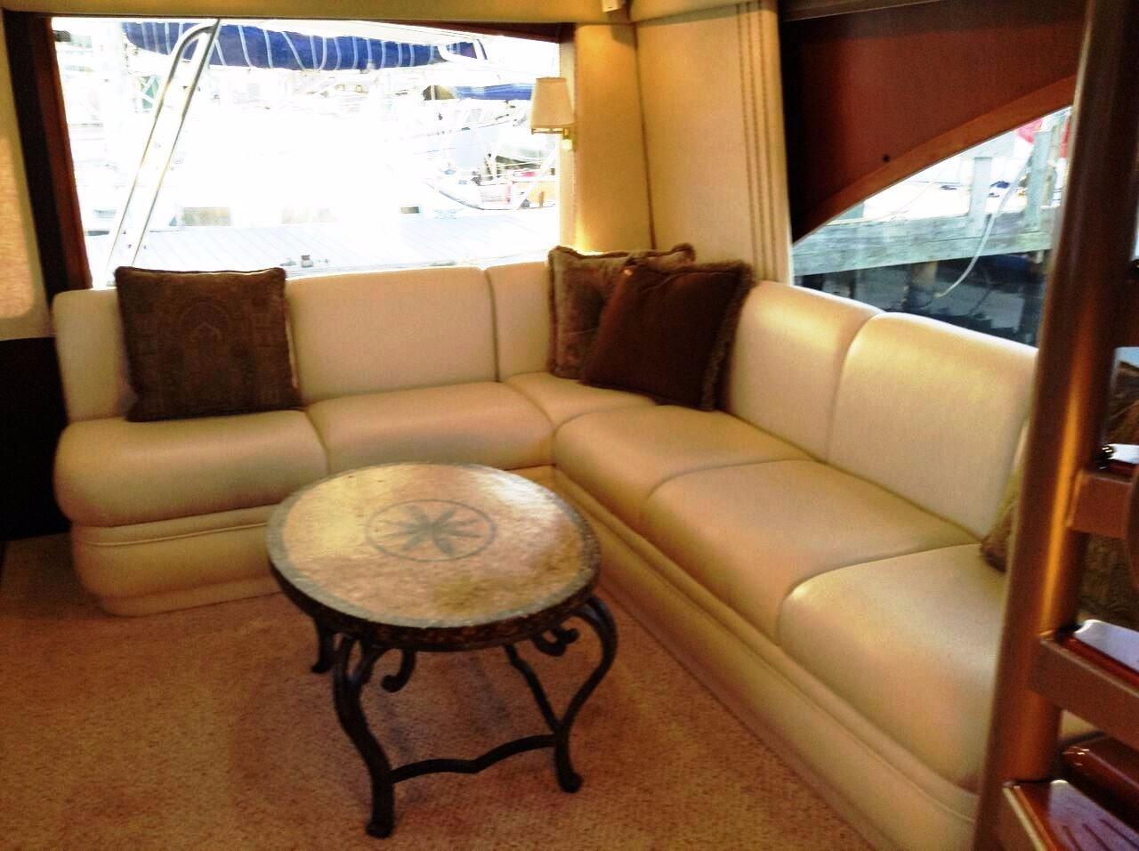Saloon View Aft Port Side