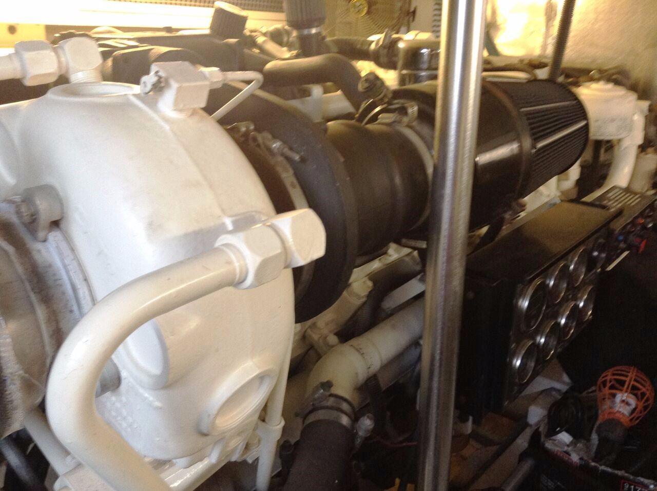 Engine Room CAT Port Engine