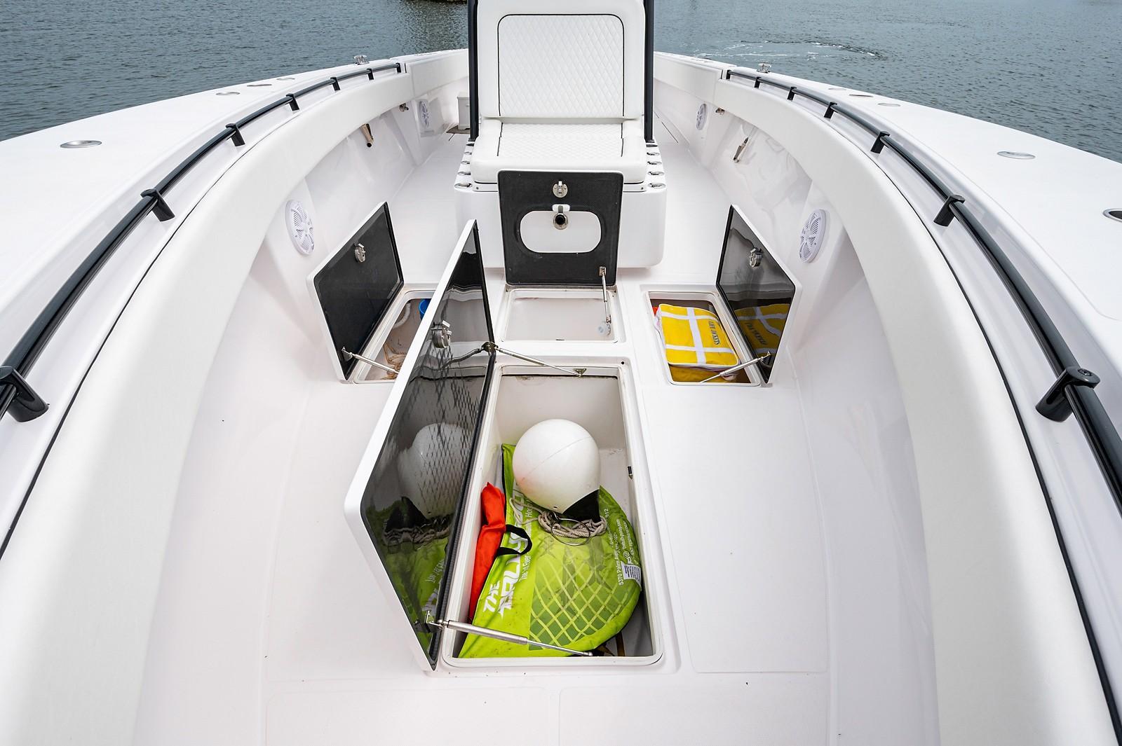 Forward Fishbox/Storage