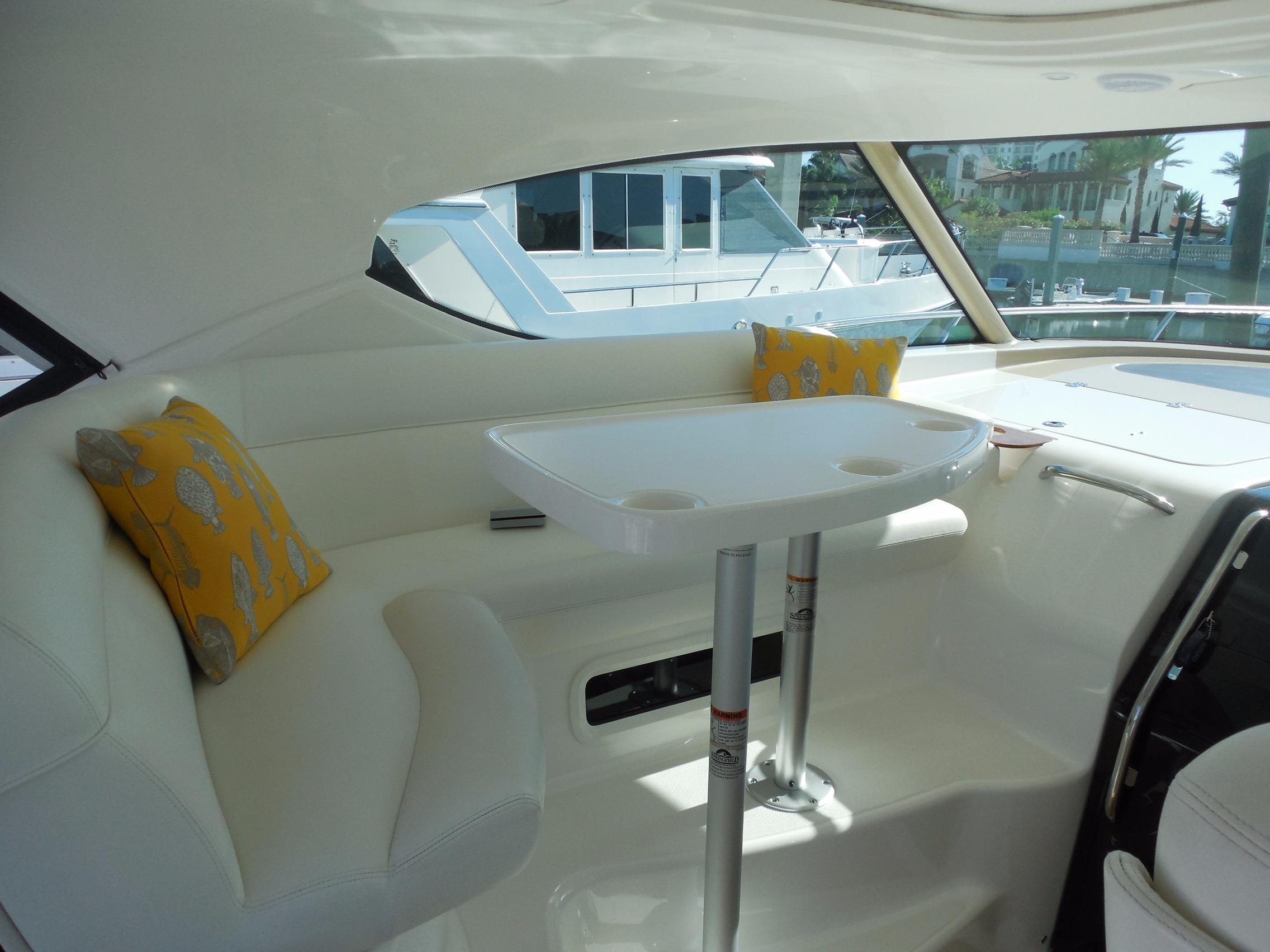 Helm Deck Settee
