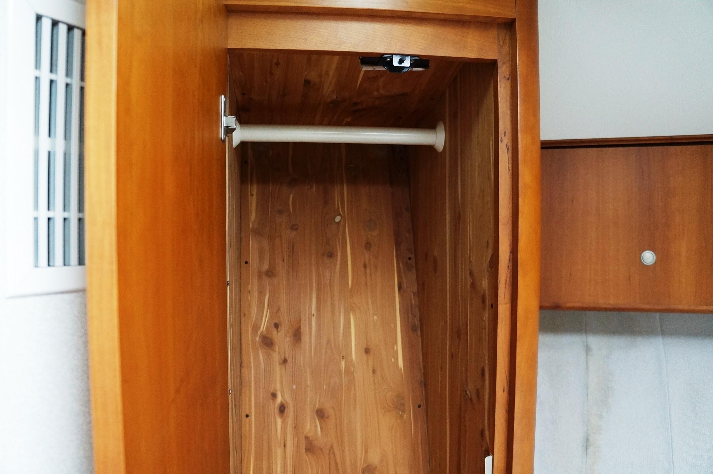 Cedar lined Hanging Locker