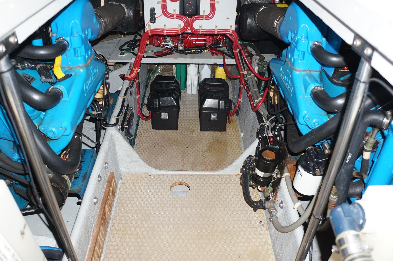 Very Clean Engine room.