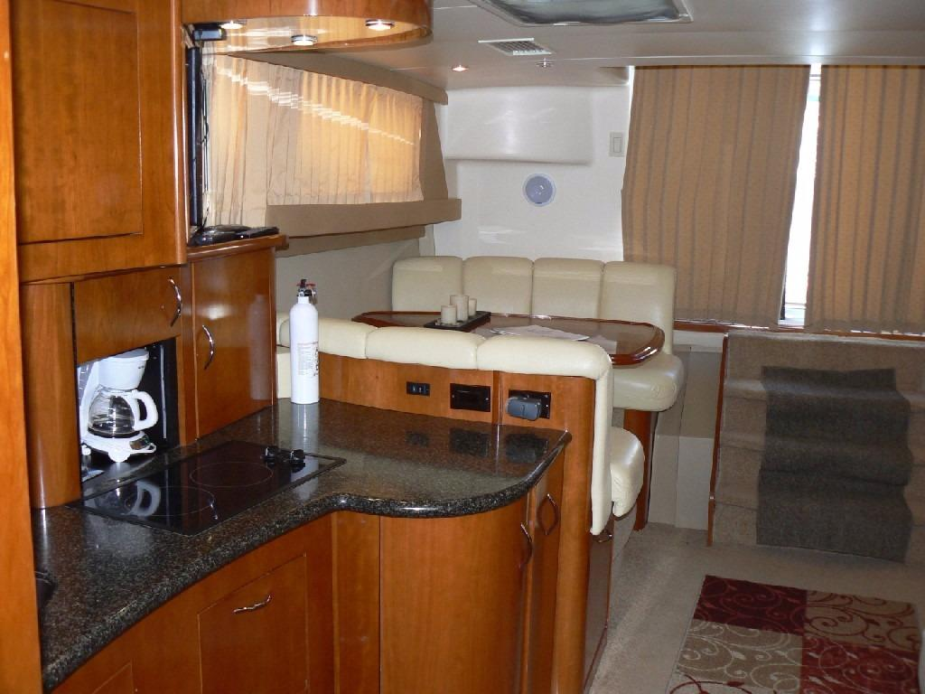 Carver 360 Mariner - Galley Facing Aft