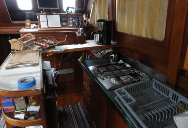 Galley With Bar