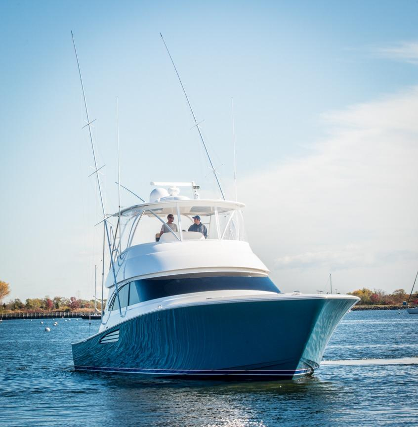 55 viking yachts 2016 dealers choice for sale in montauk for Viking sport fish