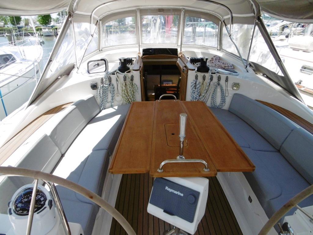 Cockpit facing Forward