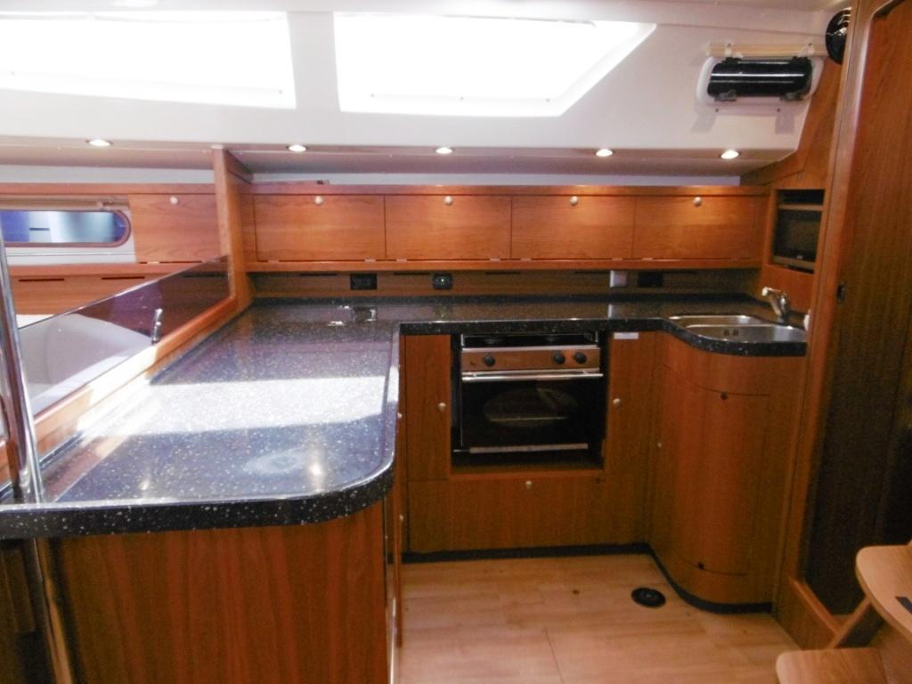 Galley from Chart Table