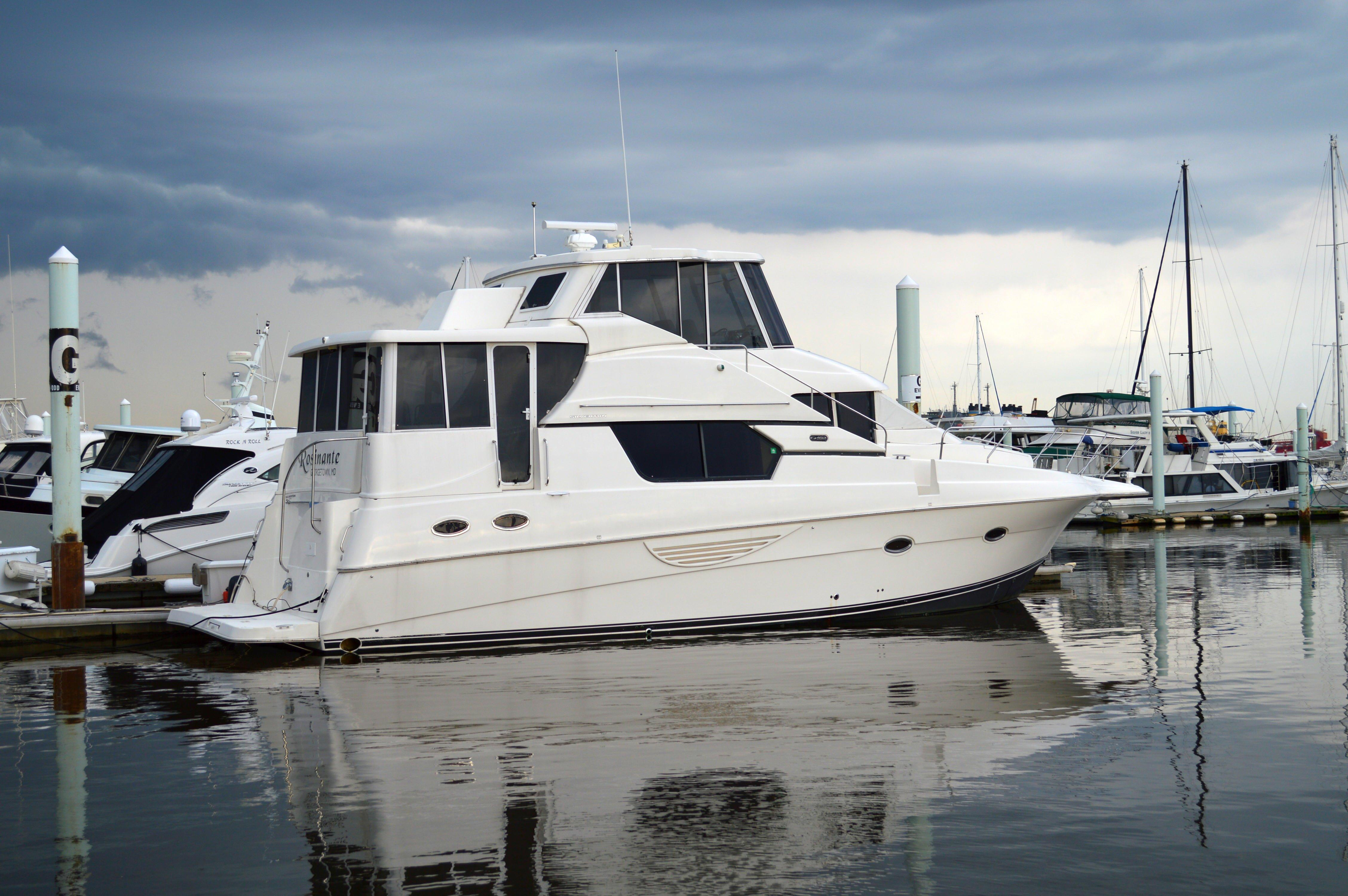 2002 45 silverton for sale in baltimore md us bluewater for Outboard motors for sale maryland