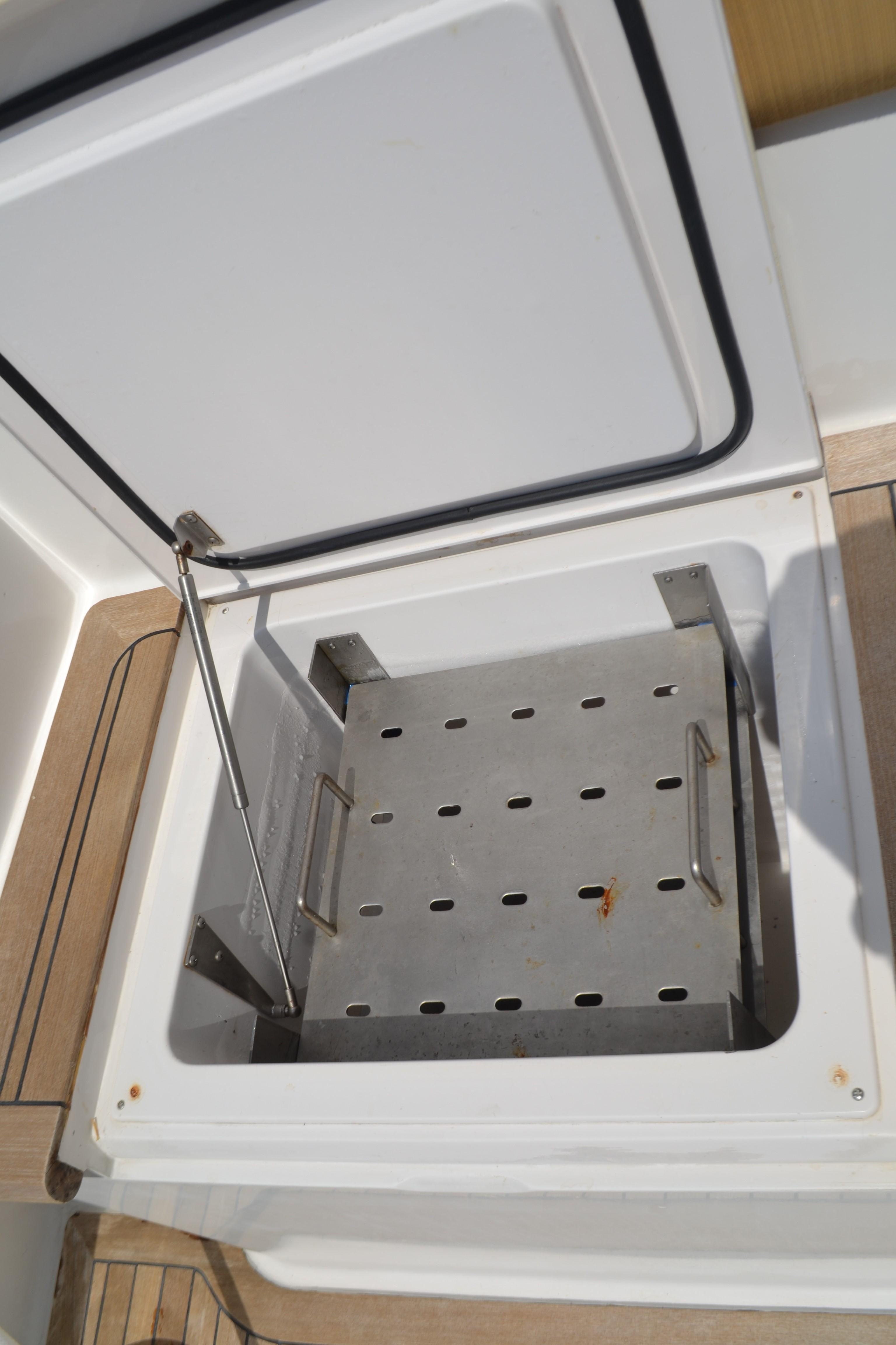 Bait Freezer in Mezzanine