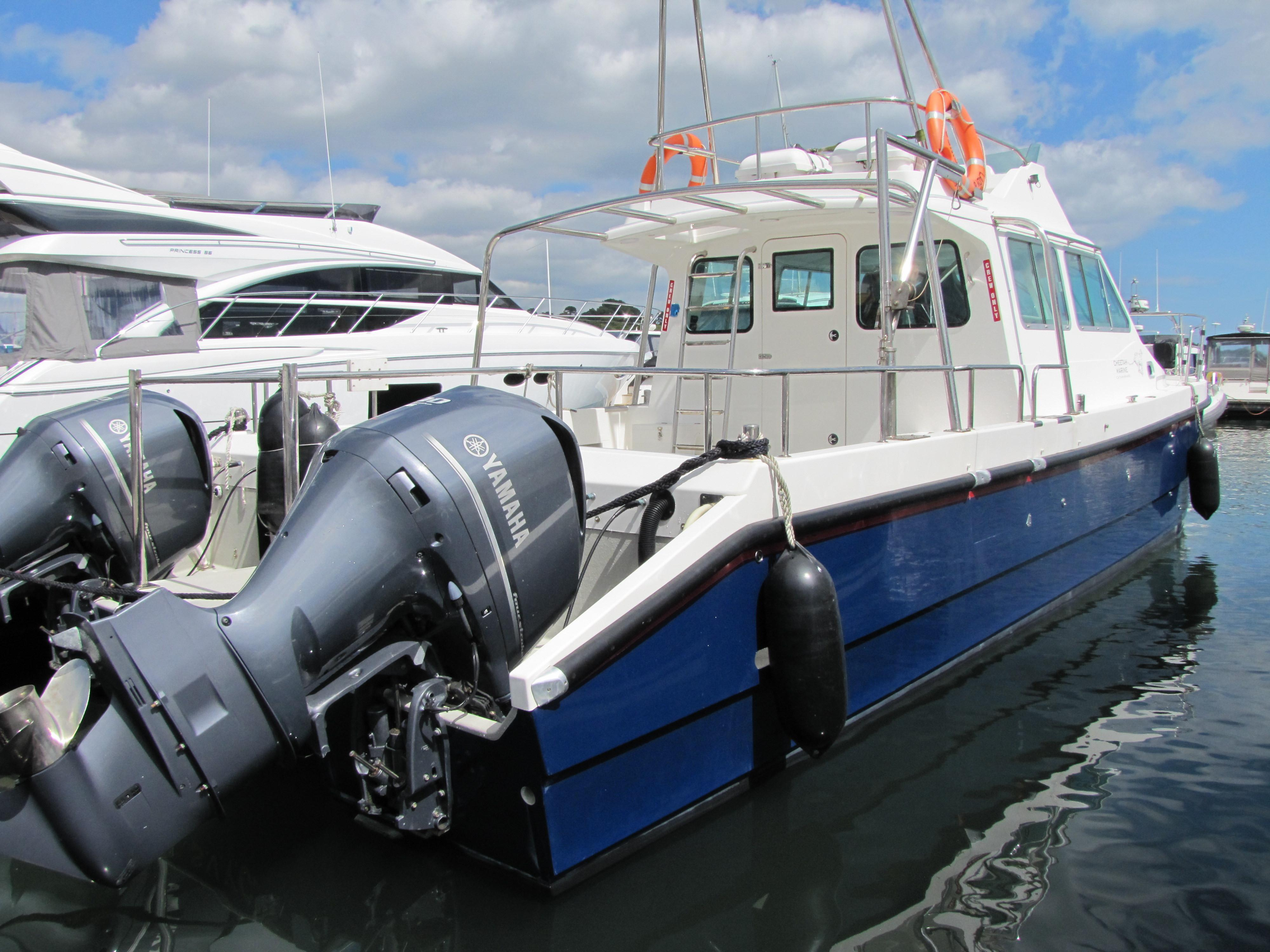 Cheetah Marine 11.2 Flybridge Catamaran