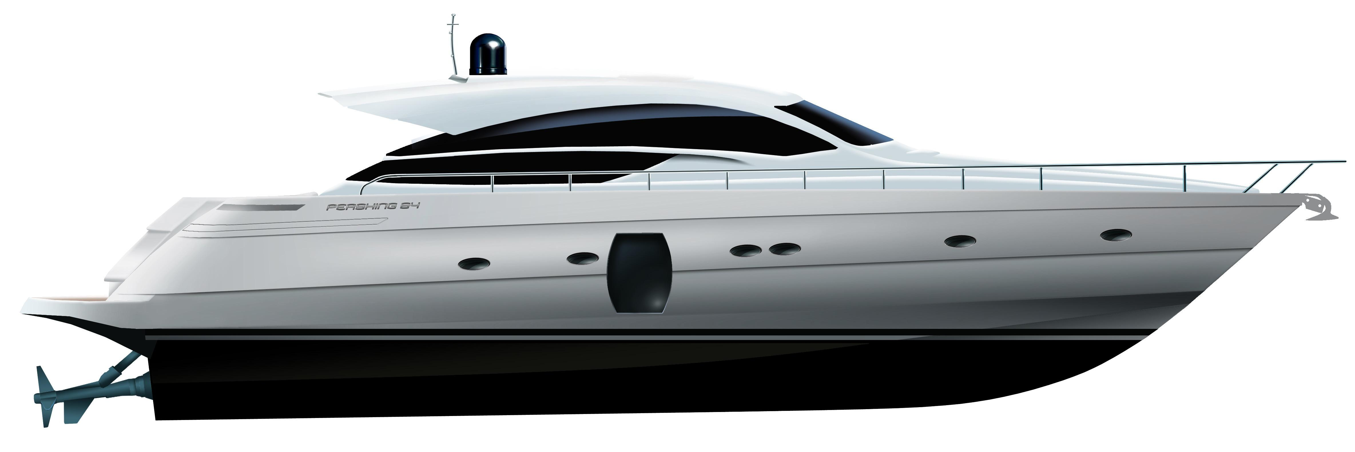 Manufacturer Provided Image: Pershing 64 Profile