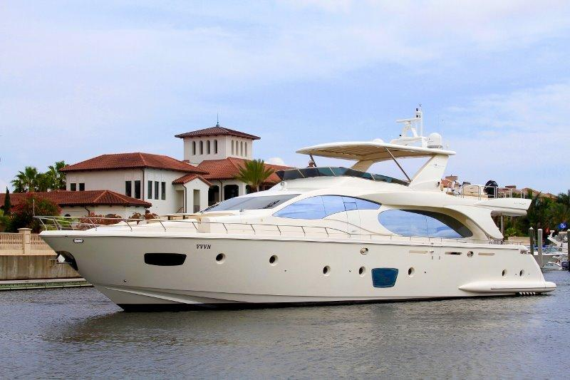 Used regal 3860 commodore yachts for sale for Used boat motors panama city fl