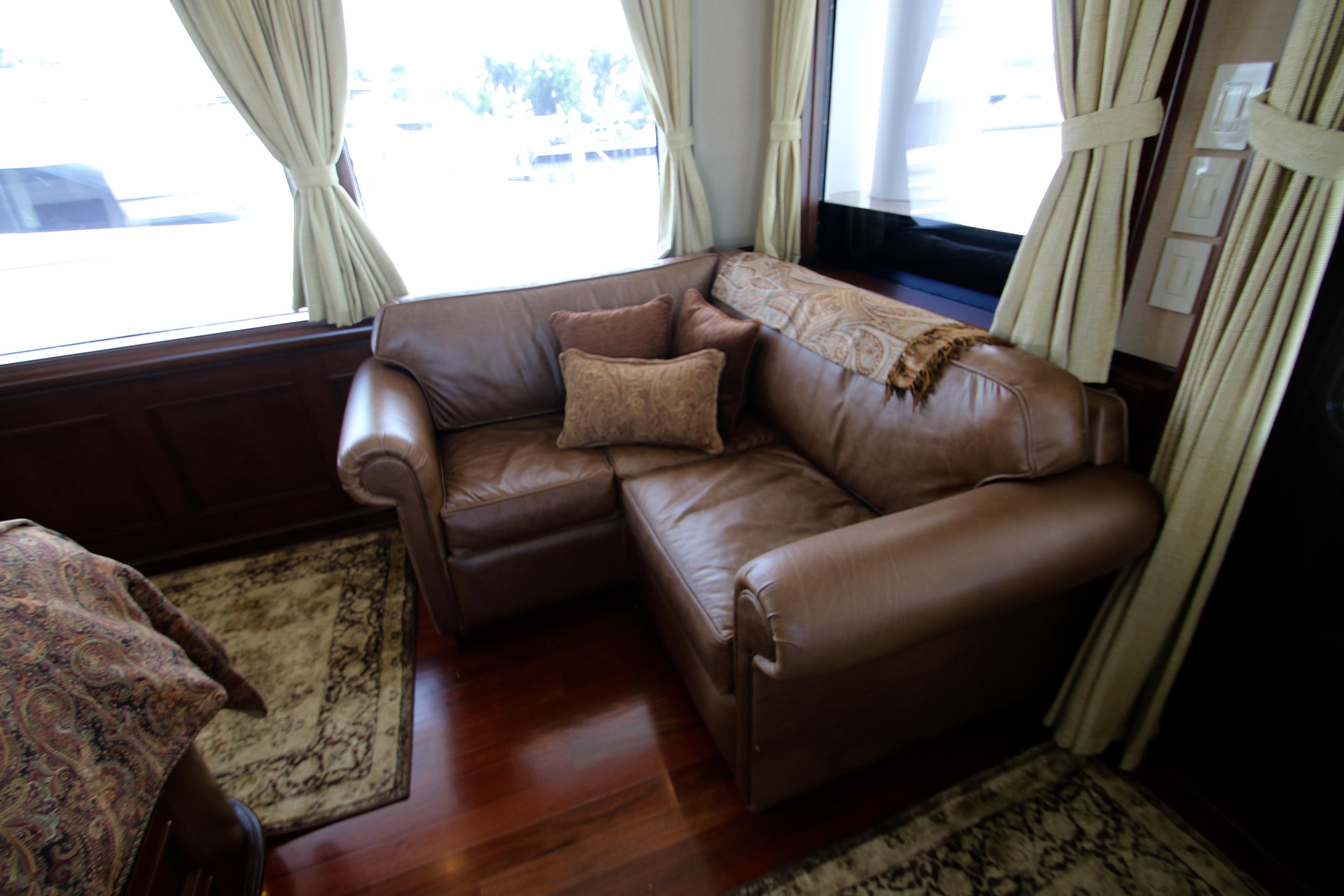 Comfortable Lounge Seating In Large Extra Large Master Stateroom