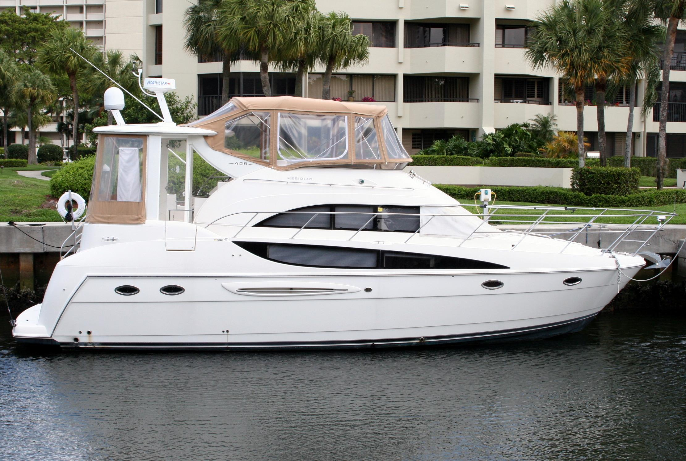2007 meridian 408 motor yacht for sale for 50 ft motor yachts for sale