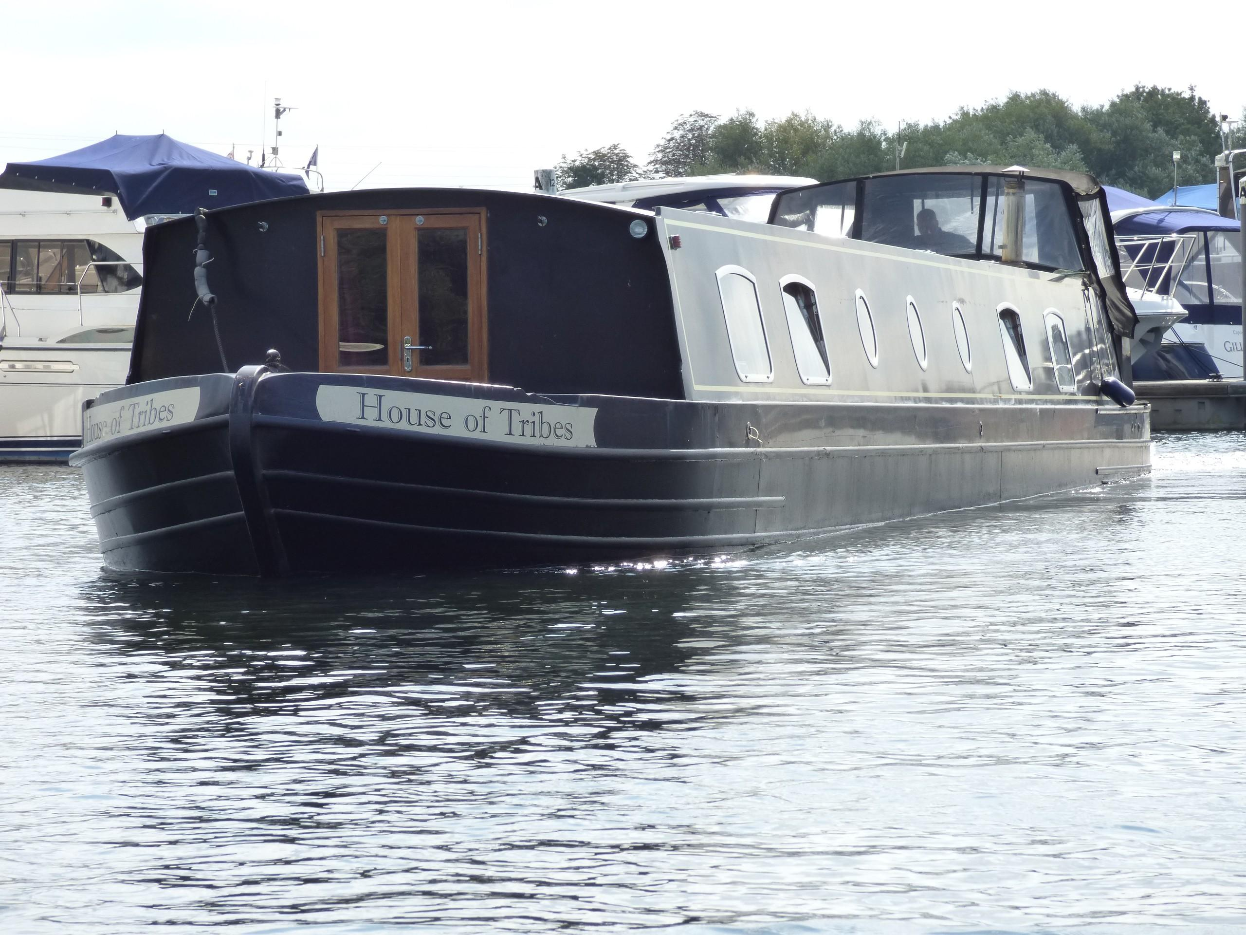 Wide Beam Narrowboat Metrofloat Henley 64' x 11'