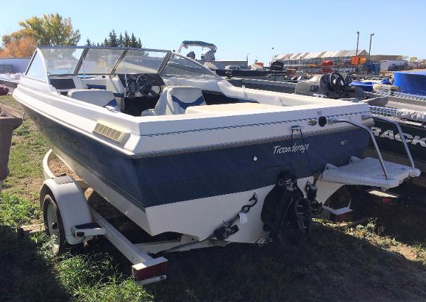 1998 Bayliner boat for sale, model of the boat is Capri 1950 & Image # 4 of 9