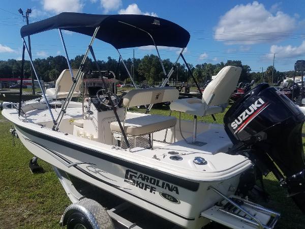 2017 Carolina Skiff boat for sale, model of the boat is JVX 16 & Image # 9 of 10