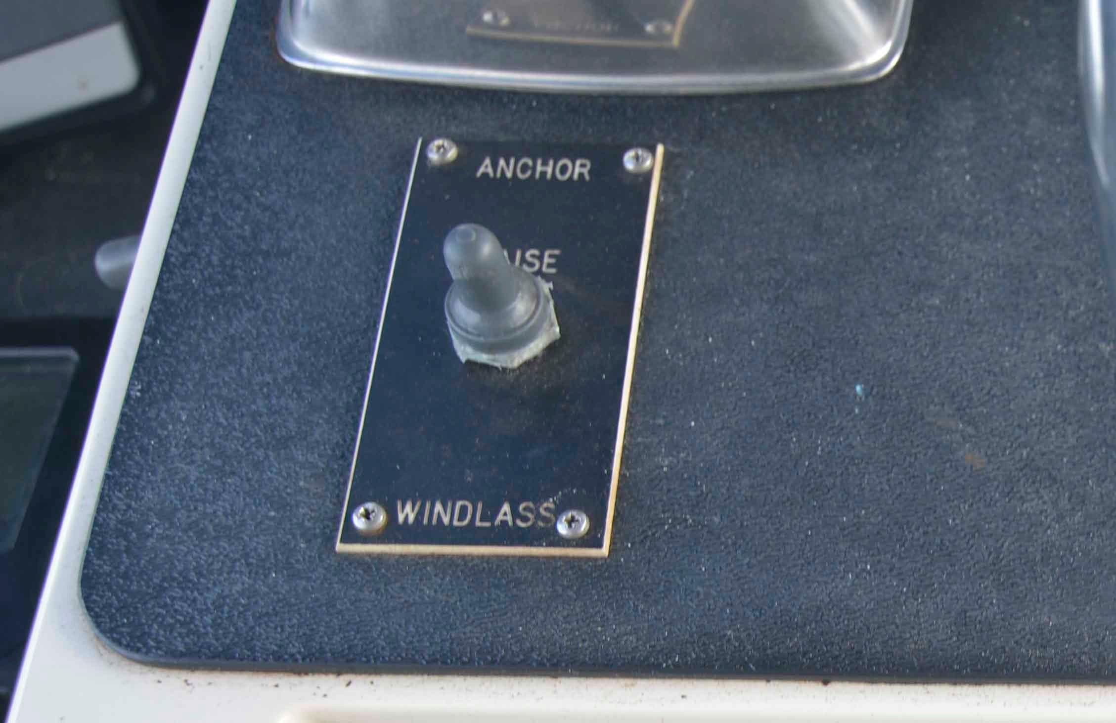 Viking 43 DCMY - Anchor Windlass Control