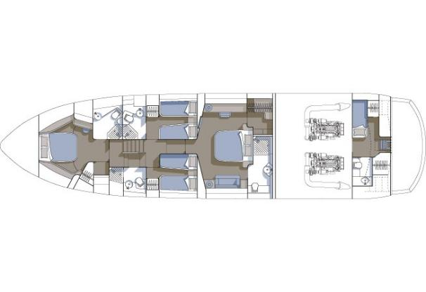 Manufacturer Provided Image: Accommodation Layout