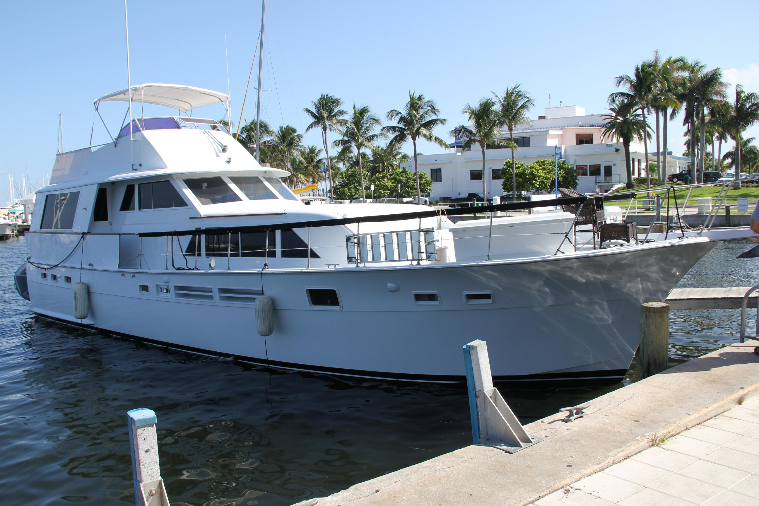58 hatteras 1975 summer nights ii for sale in dania beach for Motor yachts for sale in florida