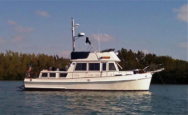 36' Grand Banks 1990 Classic