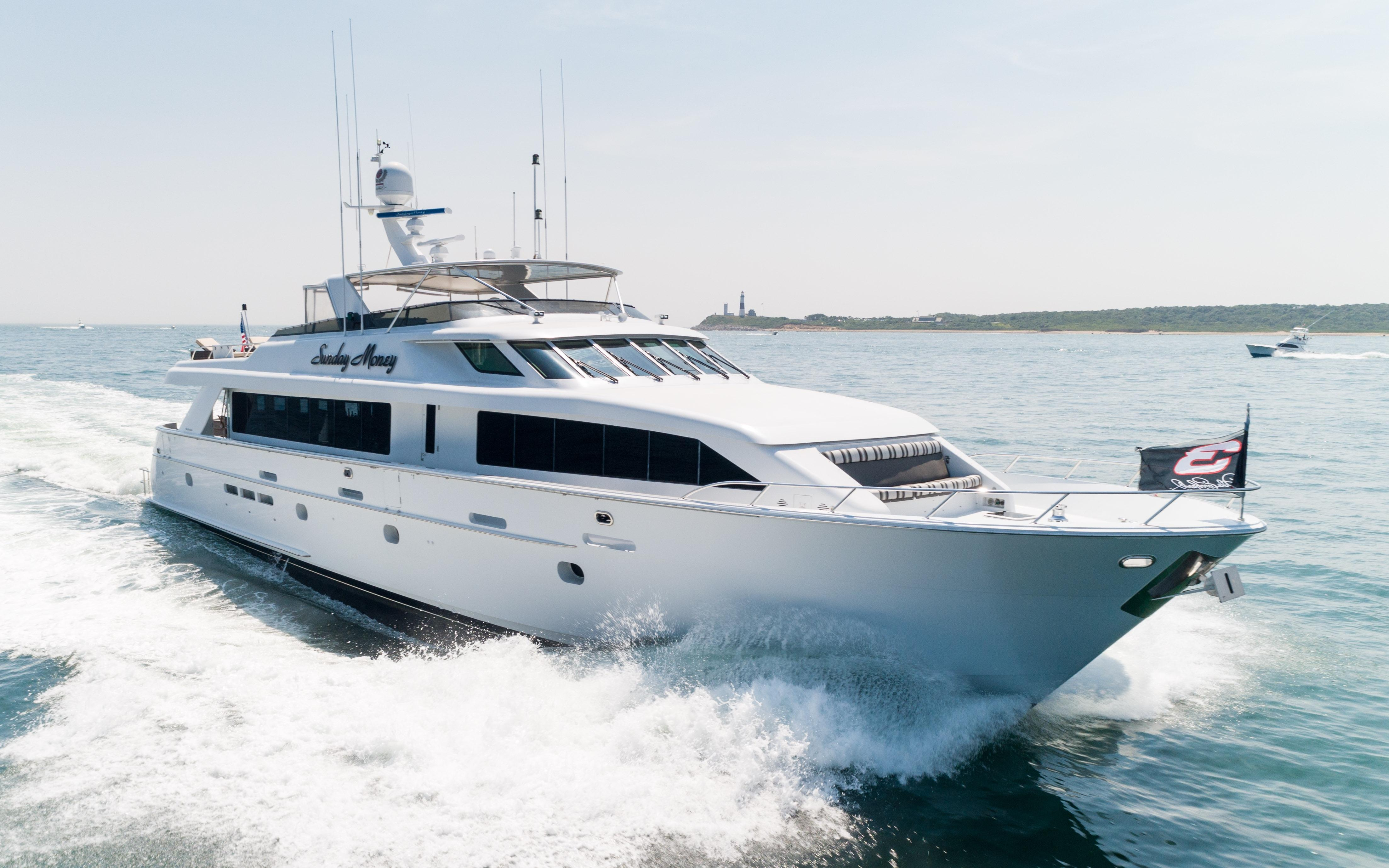 100 Foot Yacht >> Sunday Money Hatteras 2001 100 Motor Yacht 100 Yacht For Sale In Us
