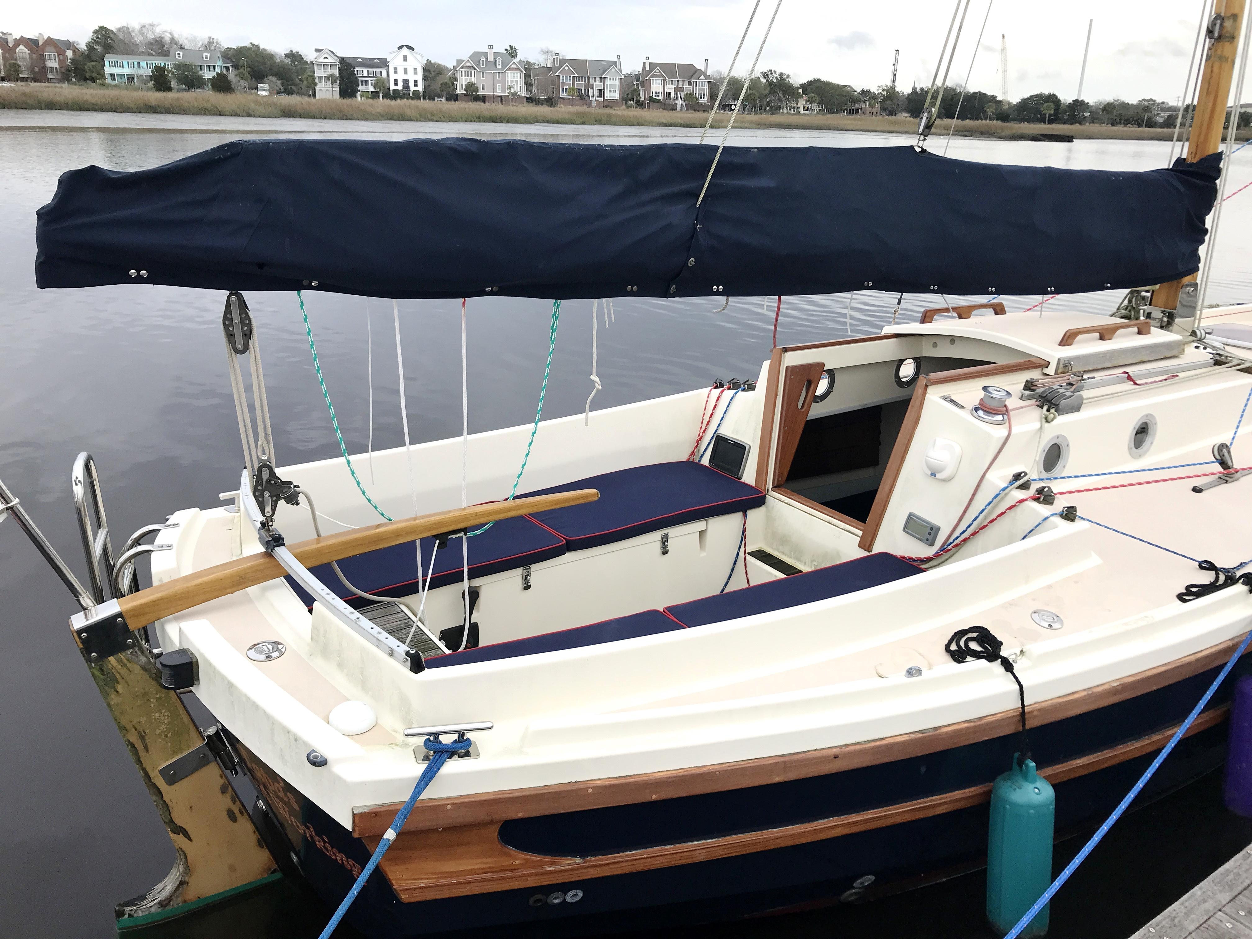 Cornish Crabbers Crabber 22 - main sail cover