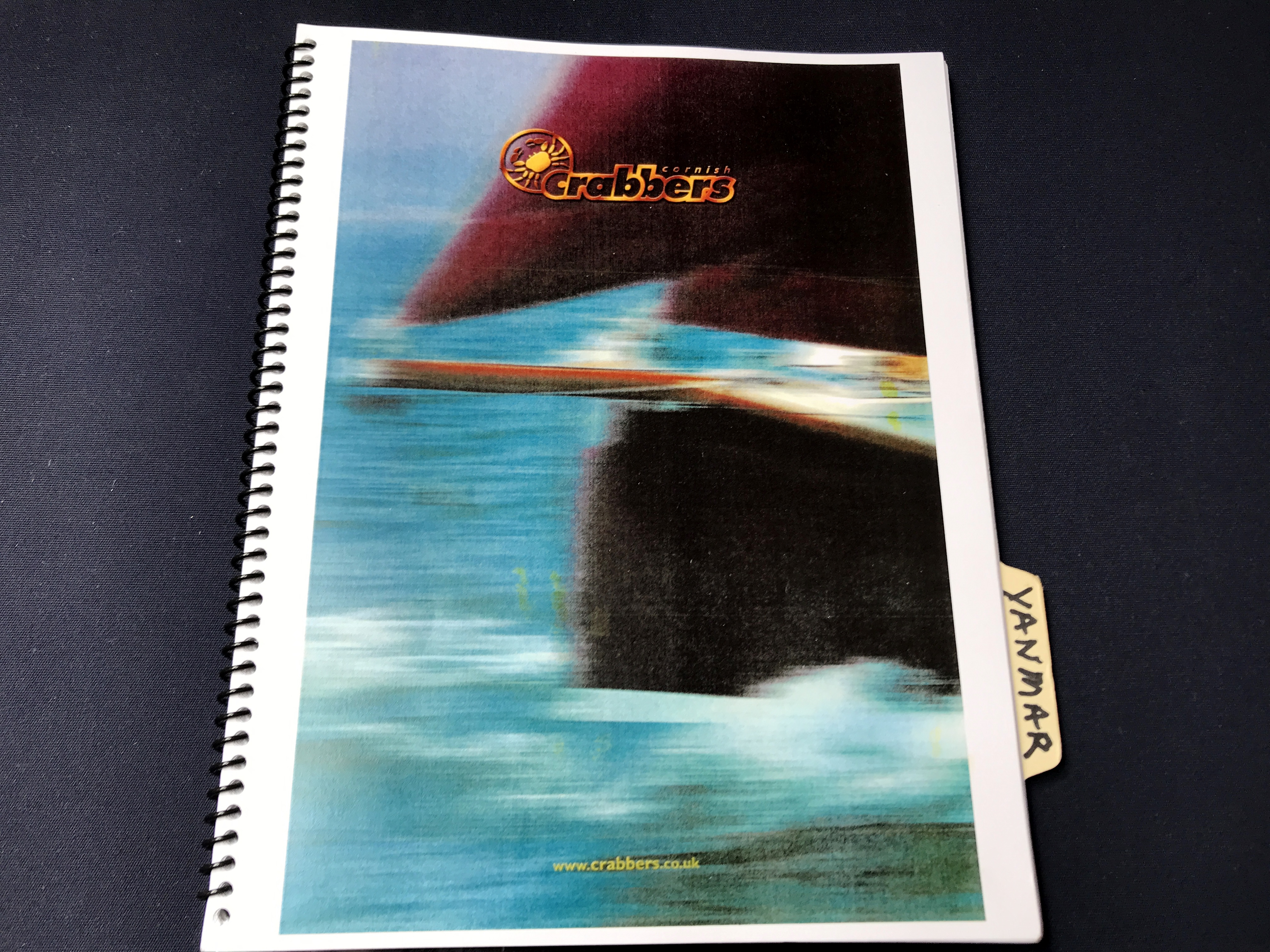 Cornish Crabbers Crabber 22 - original owners manuals for crabber and engine