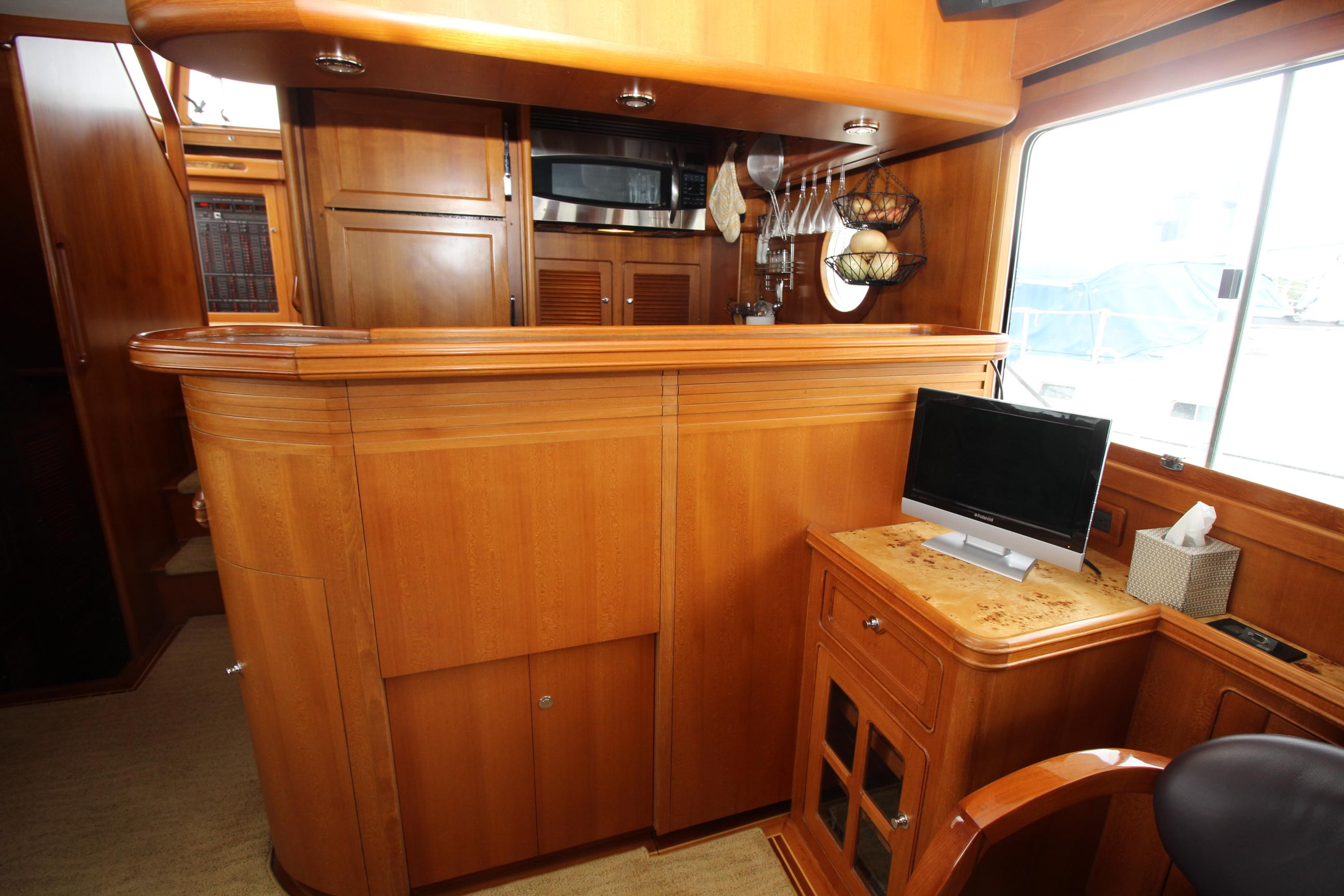 Forward View To Galley
