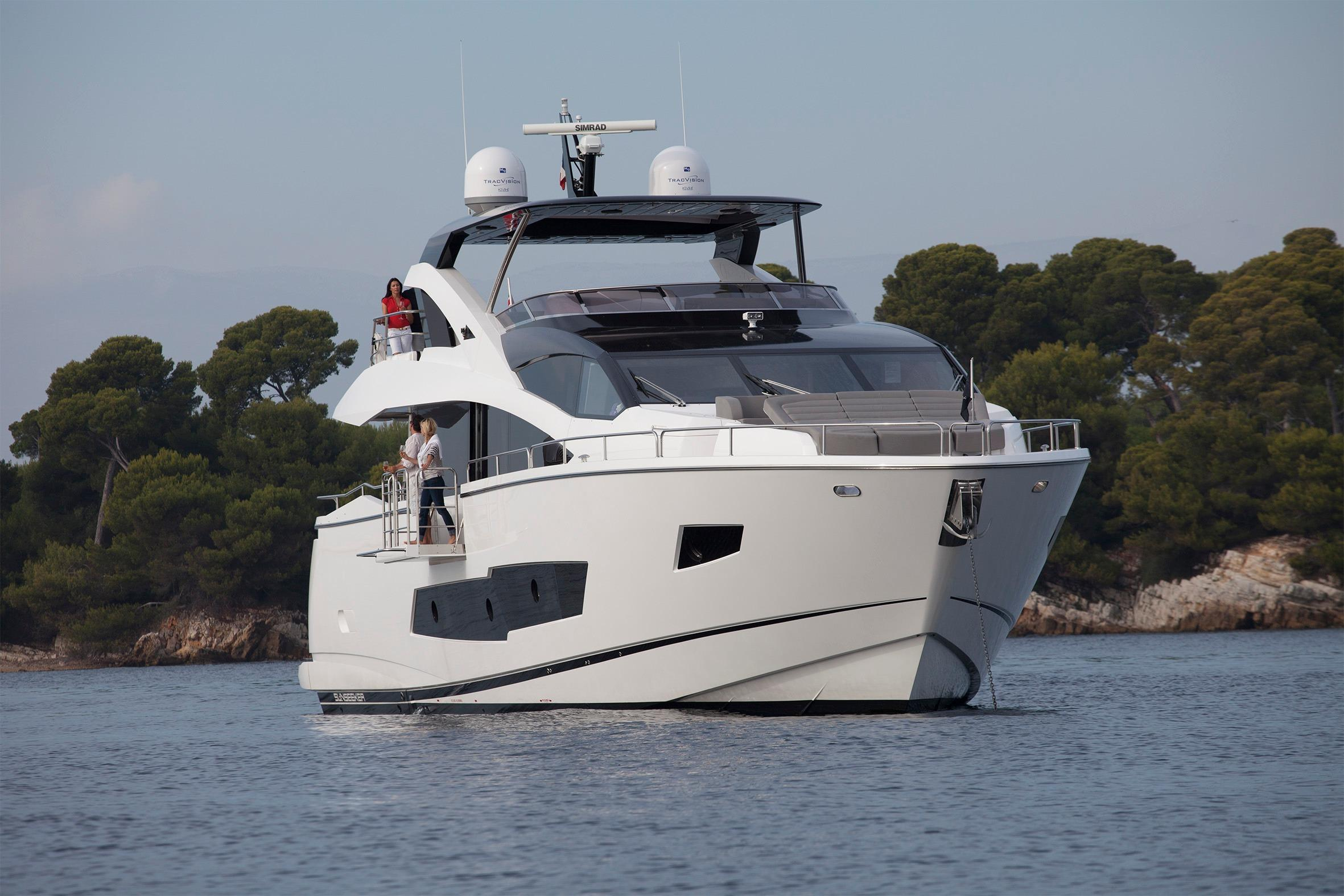 Manufacturer Provided Image: Sunseeker 86 Yacht Bow