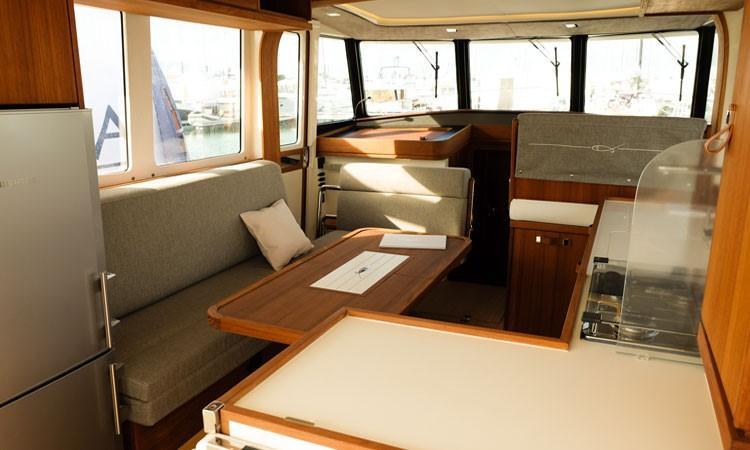 Rhea Marine 34 Trawler - saloon