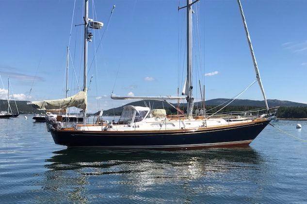 42 Hinckley Eileen 1989 Rockport   Denison Yacht Sales