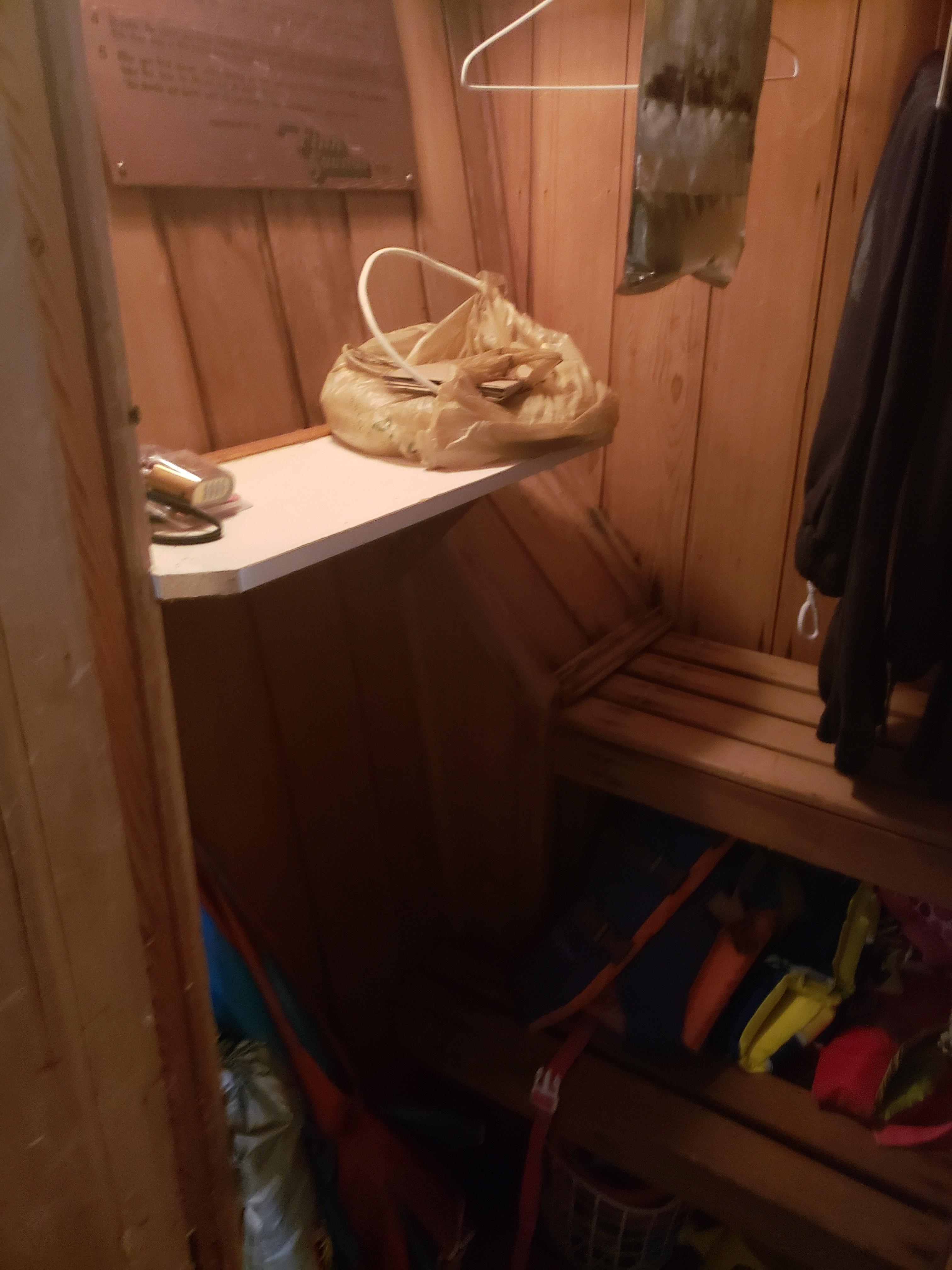 Aft stateroom Sauna
