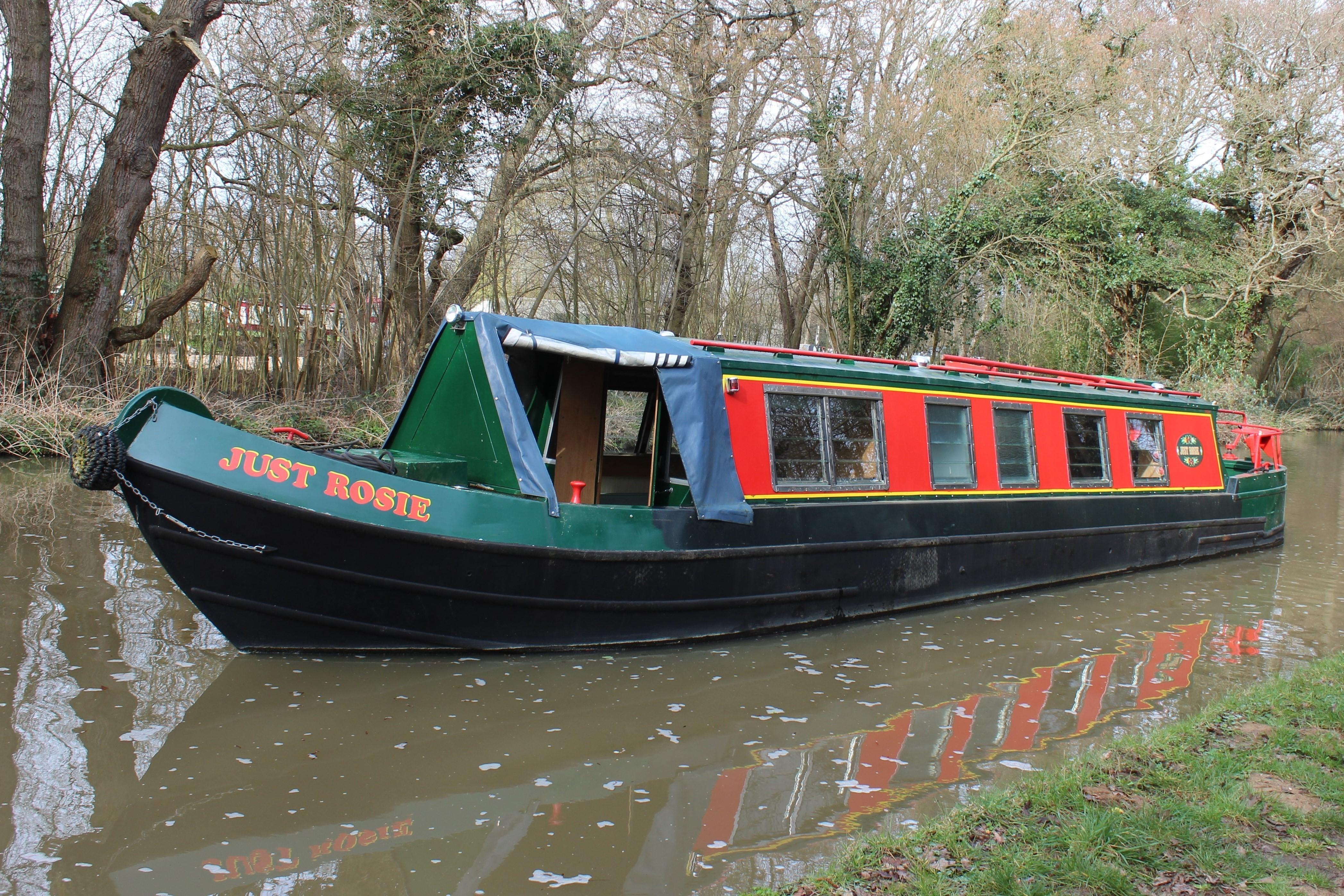 Narrowboat 42' Harborough Cruiser Stern