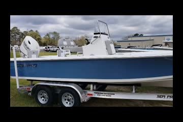 Sea Pro 228 Bay video