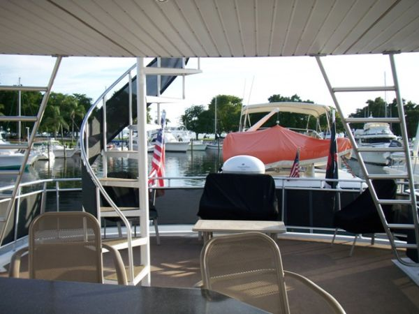 Aft Deck & Ladder To Heliport
