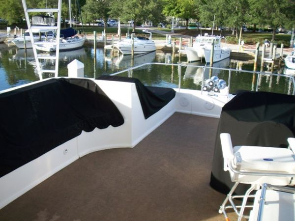 Covers On Flybridge Seats