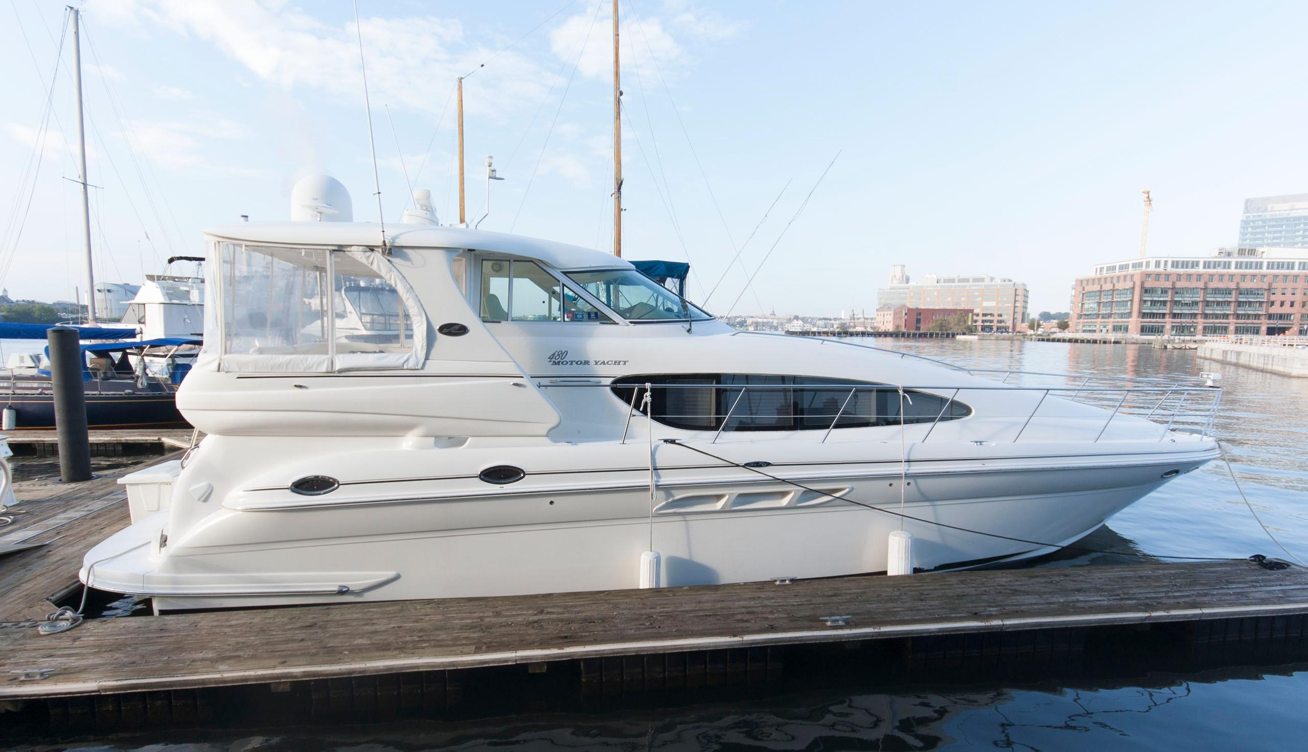Used 2004 Sea Ray 480 Motor Yacht For Sale In Baltimore