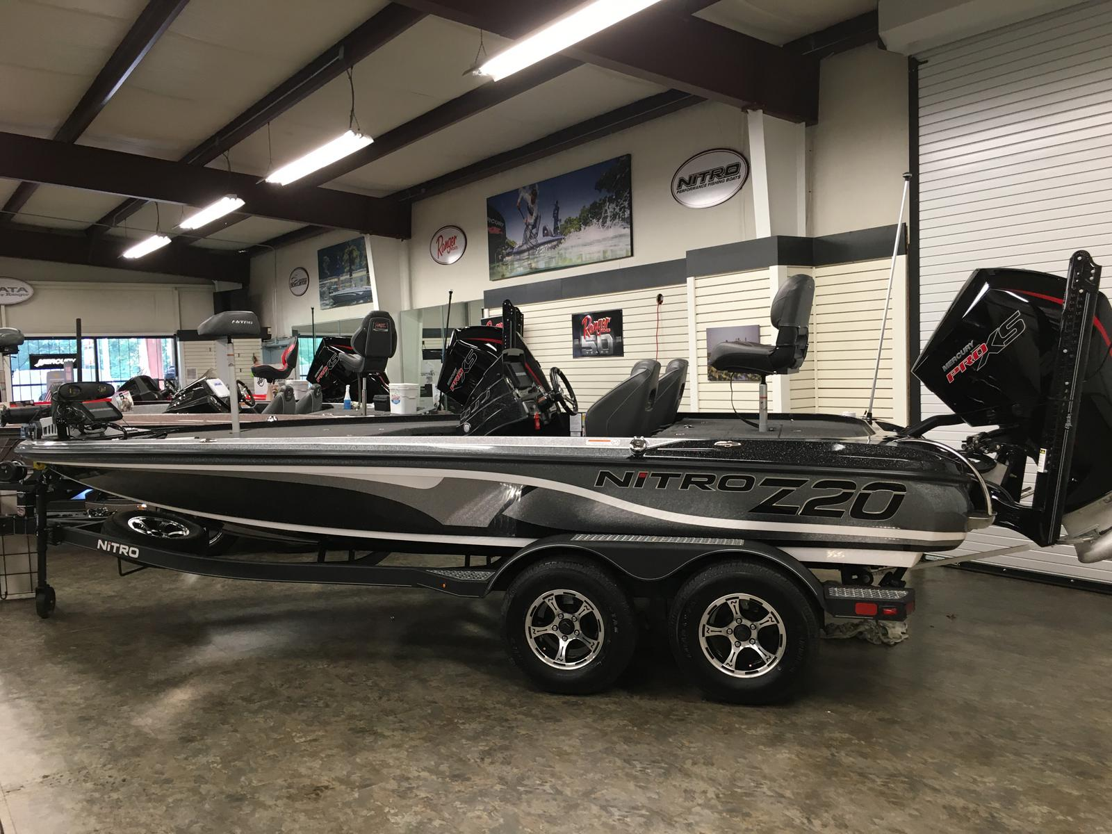 2020 Nitro boat for sale, model of the boat is Z20 PRO PACKAGE & Image # 1 of 8