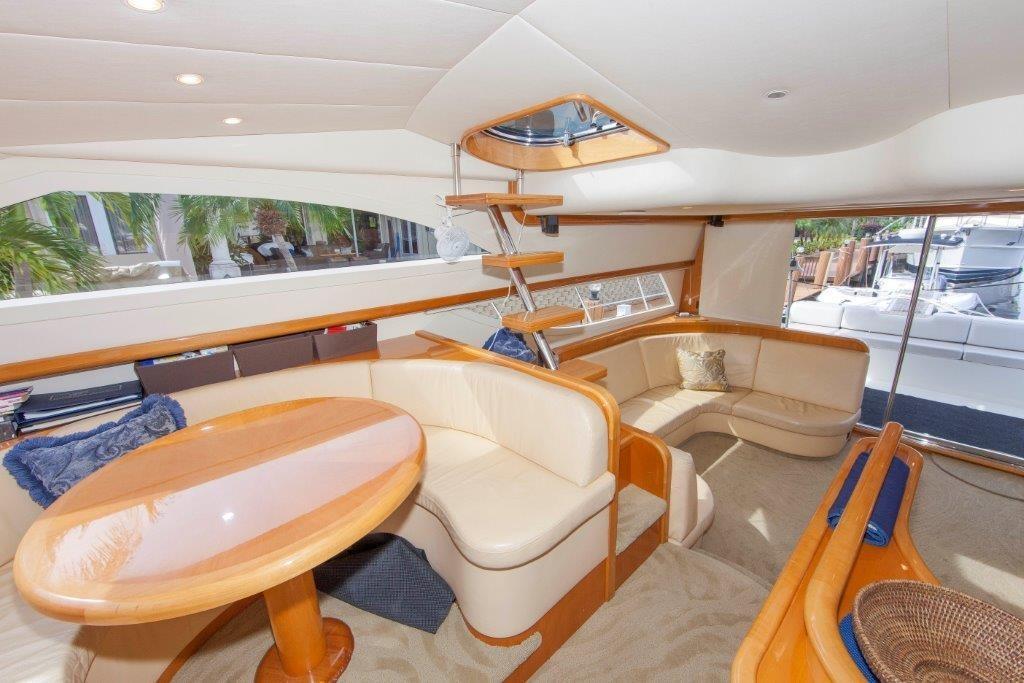 Salon Lower Level Starboard Side