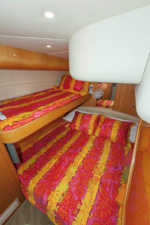 VIP Stateroom King and Bunk