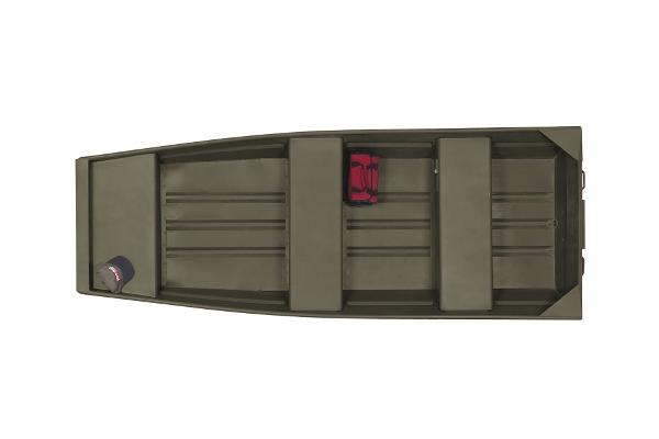 2015 Tracker Boats Topper 1032 Riveted Jon